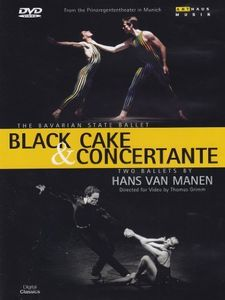 Black Cake & Concertante By Hans Van Manen [Import]