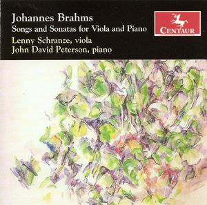 Songs & Sonatas for Viola & Piano