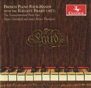French Piano Four Hands with Elegant Erard