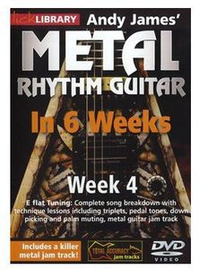 Methal Rhythm Guitar in 6 Weeks 4