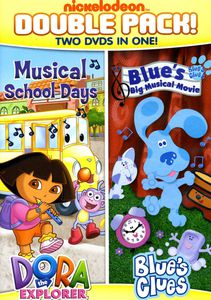 Dora and Blue's Clues Double Feature: Dora Musical School Days AndBlue's Big Musical Movie