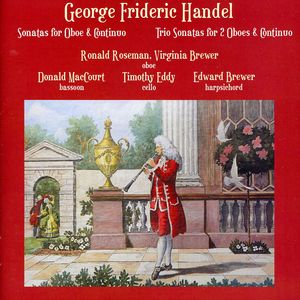 Plays Georg Frideric Handel