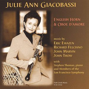 Julie Ann Giacobassi English Horn & Oboe Damore