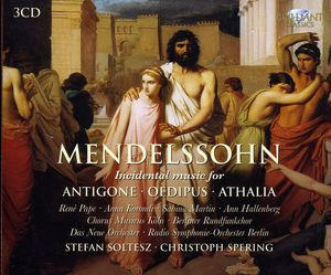 Incidental Music for Antigone Oedipus & Athalia