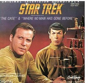Star Trek 1: Cage & Where No Man Has Gone (Original Soundtrack)