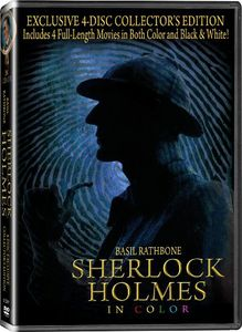 Sherlock Holmes 4 Disc Collector's Edition