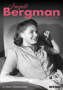 Ingrid Bergman in Sweden (3-Film Collection)