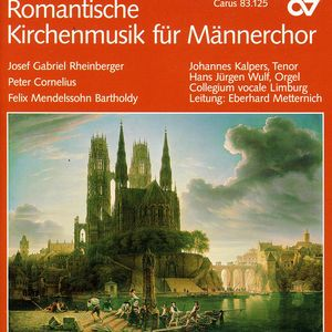 Romantic Church Music for Men's Choir /  Various