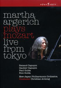Martha Argerich Plays Mozart: Live from Tokyo