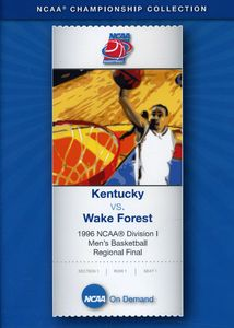 1996 NCAA Division 1 Kentucky Vs. Wake Forest