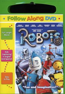 Robots [2005] [Full Frame] [Follow Along Captions] [Carrying Case] [Scratch-Resistant Disc] [Sensormatic]