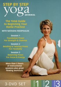 Yoga Journal's: Beginning Yoga Step By Step Session 1-3 [3 Discs] [Exercise]