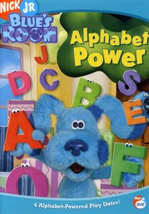 Blue's Clues: Blue's Room - Alphabet Power [Full Screen] [Animated]