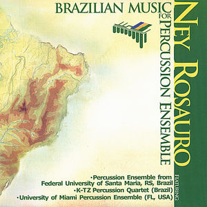 Brazilian Music for Percussion Ensemble