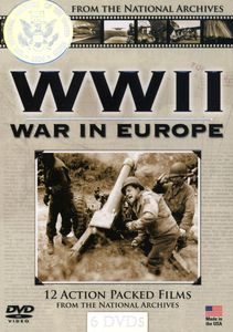 WWII - War In Europe [Documentary][6 Discs][Slim]
