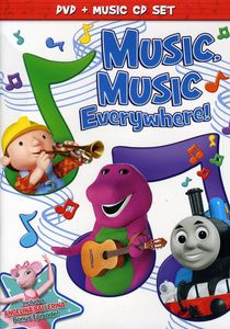 Hit Favorites: Music, Music Everywhere! [Full Frame] [With CD]
