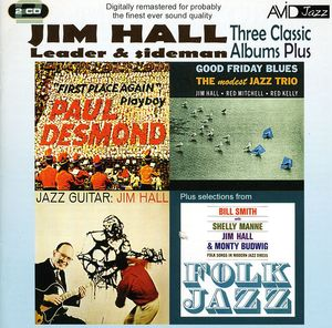 3 Classic Albums Plus - Jazz Guitar/ Good Friday Blues/ Paul Desmond-First Place Again