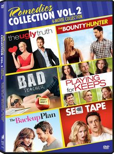The Back Up Plan/ Sex Tape/ Bad Teacher (2011)/ Playing For Keeps/ TheBounty Hunter (2010)/ The Ugly Truth