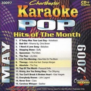 Karaoke: Pop Hits Of The Month - May 2009