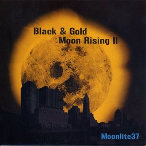 Black & Gold Moon Rising II