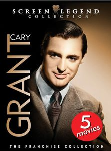 Cary Grant: Screen Legend Collection [Full Frame] [3 Discs] [Digipak With Outer Box]