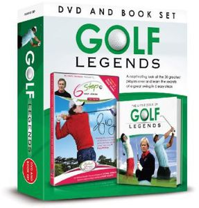 Golf Legends-DVD & Book Gift Set