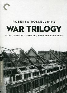 Roberto Rossellini's War Trilogy  (Criterion Colletion)