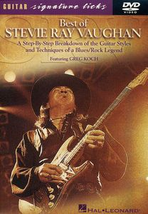 Best Of Stevie Ray Vaughan [Instructional]