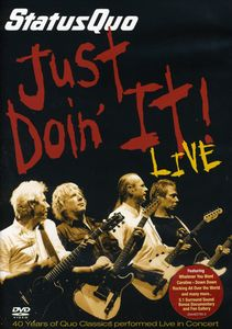 Just Doin It-Live (Pal/ Region 2)