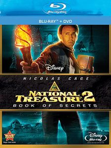 National Treasure 2: Book Of Secrets [WS] [Blu-ray/ DVD Combo] [2 Discs]