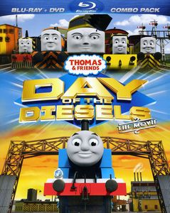 Thomas and Friends: Day Of The Diesels Movie [WS] [Blu-ray/ DVD Combo]