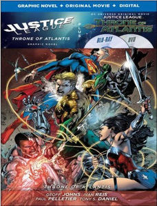 Justice League: Throne of Atlantis/ Justice League, Vol. 3: Throne OfAtlantis Graphic Novel