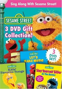 Sing Along with Sesame Street 3 DVD Gift Coll
