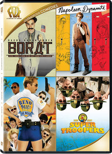 Borat: Cultural Learnings of America for Make Benefit Glorious Nation of Kazakhstan /  Napoleon Dynamite /  Reno 911!: Miami /  Super Troopers