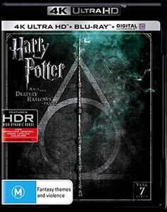 Harry Potter & The Deathly Hallows - Part 2