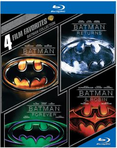 4 Film Favorites: Batman Collection