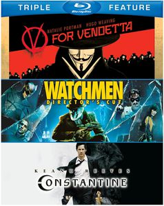 V For Vendetta/ Watchmen/ Constantine [Triple Feature]