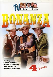 Bonanza, Vol. 1 [4 Episodes] [Remastered]