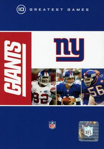 NFL New York Giants 10 Greatest Games [Box Set] [10 Discs]