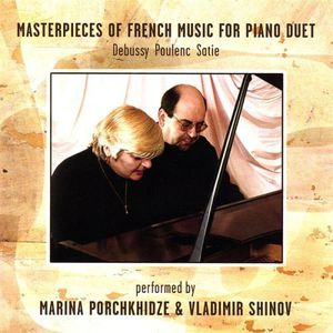 Masterpieces of French Music Debussy Poulenc Satie