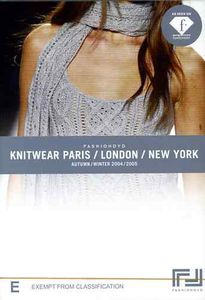 Fashion DVD/ Knitwear/ Paris/ London/ New York [Import]