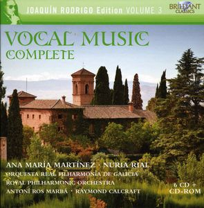 Complete Vocal Music - Rodrigo Collection 3