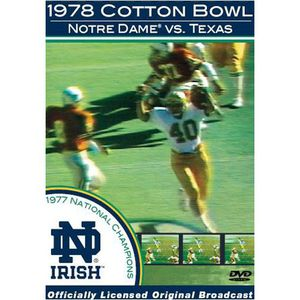 1978 Cotton Bowl Notre Dame [Sports]