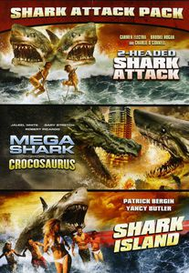 2 Headed Shark Attack/ Mega Shark Vs. Crocosaurus