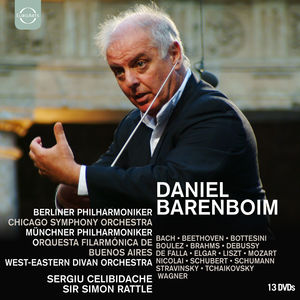 Daniel Barenboim Box: The Conductor