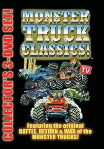 Monster Truck Classics 3-DVD Set