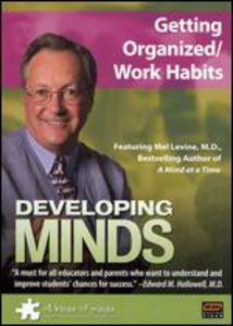 Developing Minds: Getting Organized/ Work Habits [3 Discs] [Educational