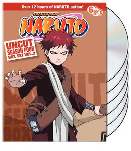 Naruto Uncut Season 4 V.2 Box Set