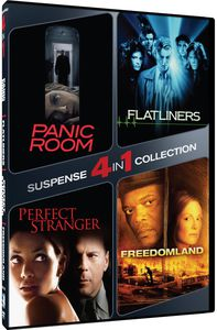 4-In-1 Suspense Collection: Panic Room /  Flatliner
