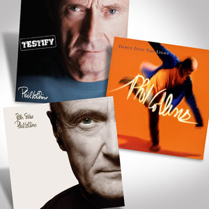 Phil Collins Vinyl Reissues Bundle